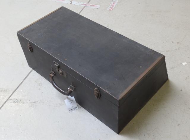 A Brooks motoring trunk,