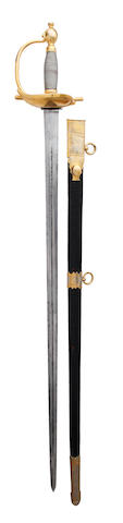 A 1796 Pattern Heavy Cavalry Officer's Dress Sword