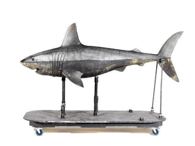 Doctor Who - A Chrismas Carol, December 2010: A foam latex model of a shark,