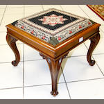 A rosewood stool 19th Century