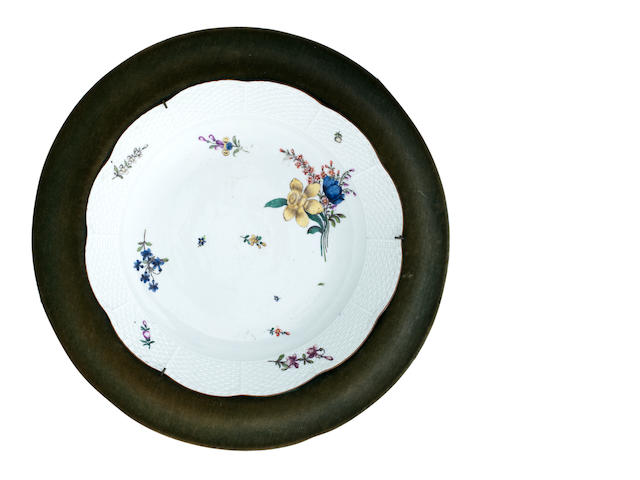 A pair of Meissen dishes Circa 1750