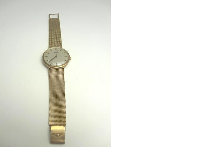 A gentleman's 9ct gold wristwatch, by Longines, 1970s