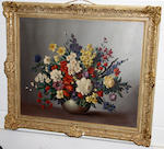 Lucille Aubray, 20th Century Still life of flowers