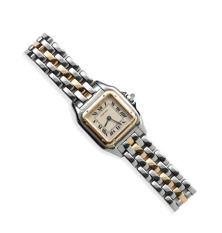 Cartier: A lady's Panthère wristwatch