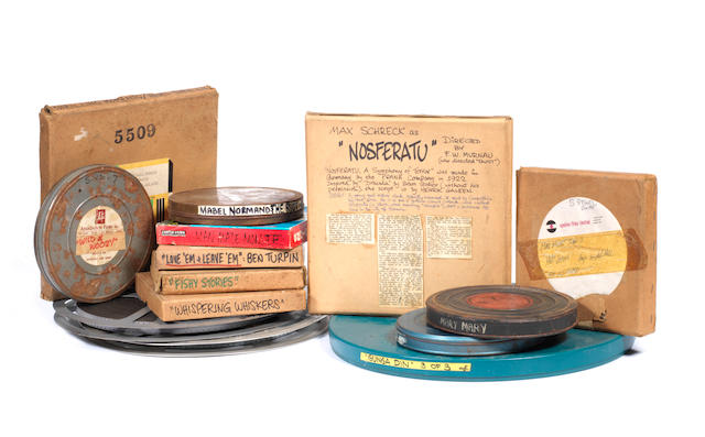 The Bob Monkhouse Film Archive: A large collection of reel-to-reel films, various dates,