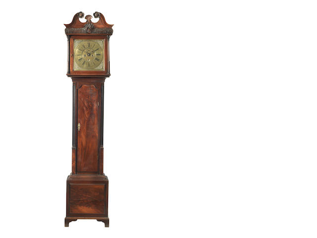 An 18th century Irish mahogany longcase clock George Dougherty, Dublin