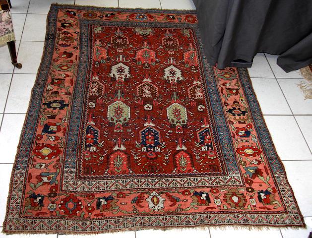 A Feraghan rug,
