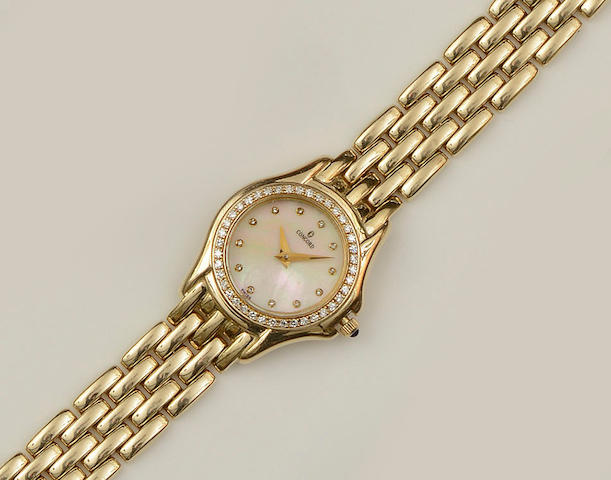 Concord: A lady's diamond set wristwatch