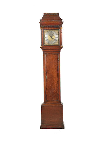 A fine second quarter of the 18th century oak 30-hour longcase clock Denis Chambers, Puckle-church
