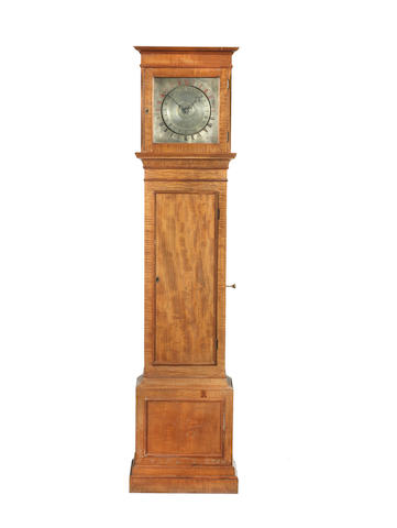 A unique mid 19th century night watchman's floorstanding timepiece Vulliamy, London, number 1, AD1842.  The movement numbered 1584.
