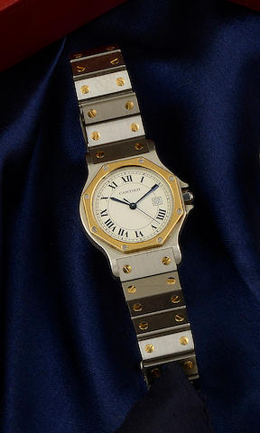 Cartier: A Santos automatic wristwatch