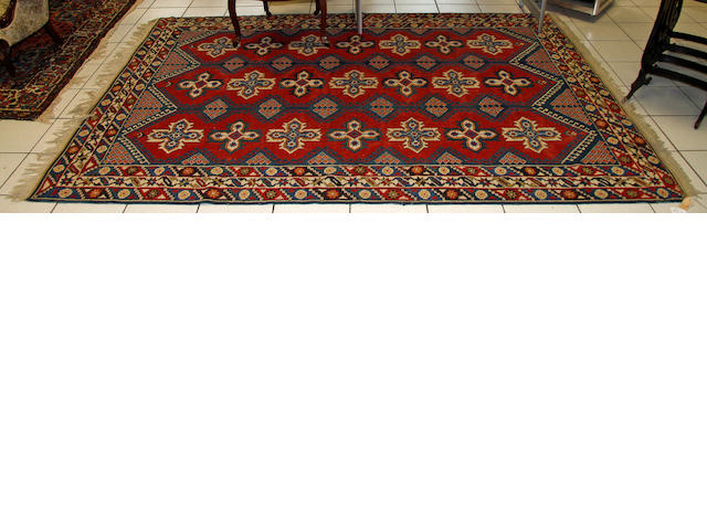 A Turkish rug, 275cm x 200cm