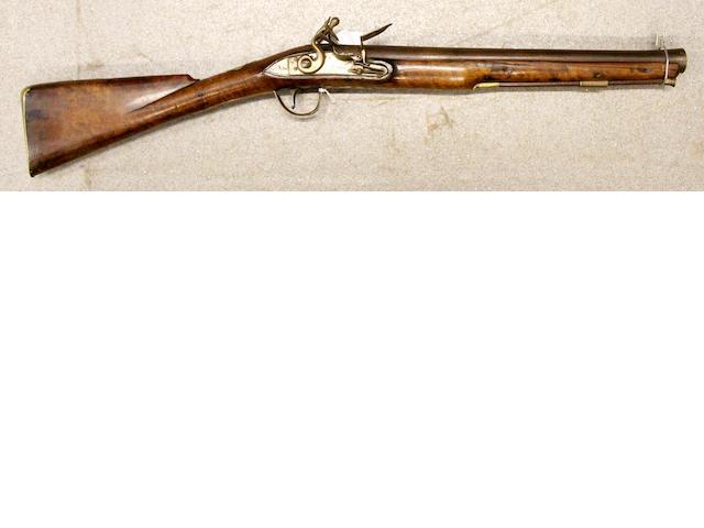 A flintlock Musketoon