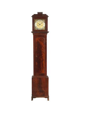 A late 17th century longcase clock movement Joseph Knibb, London