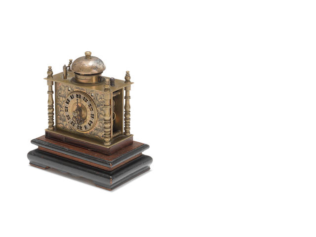 A 19th century Japanese table clock
