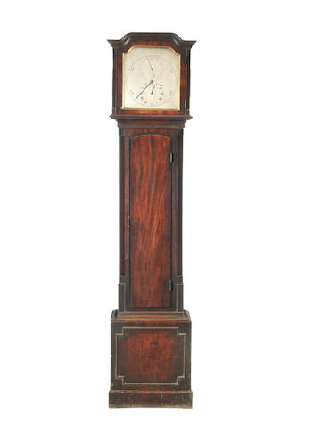 A good early 19th Century mahogany floorstanding regulator  Reid & Auld, Edinburgh