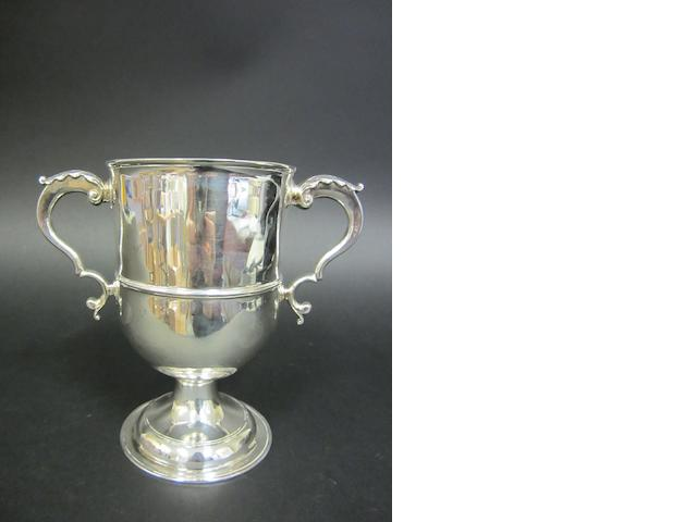 A George III silver twin-handled cup By Daniel May I, London 1783,