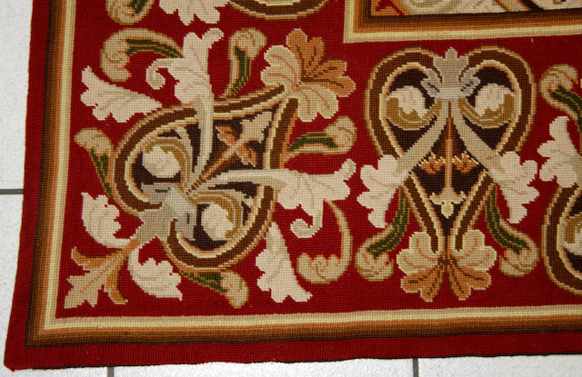 A needlework carpet,