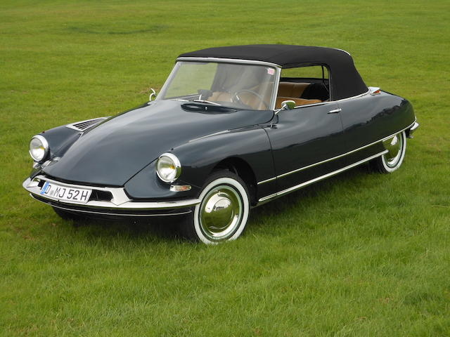 1962 Citroën DS19 Décapotable  Chassis no. à venir Engine no. à venir