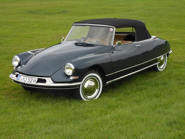 Citröen DS 19 Cabriolet Chapron