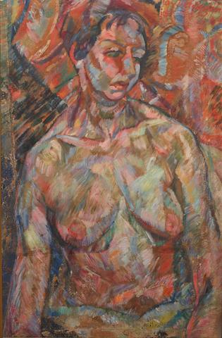 Joseph Verdegem (Belgian, 1897-1957) Female nude