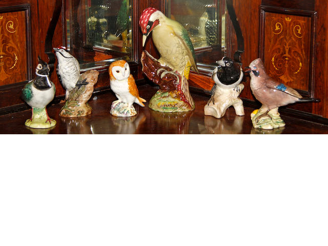 A collection of six various Beswick birds (6)