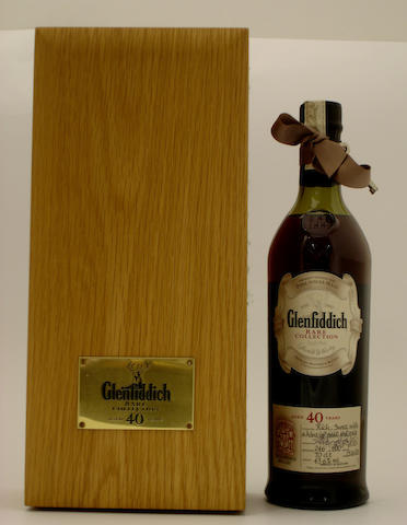 Glenfiddich Rare Collection-40 year old