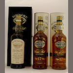 Bowmore-21 year old<BR /> Bowmore-17 year old<BR /> Bowmore-12 year old