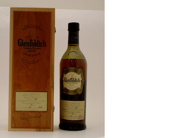 Glenfiddich Vintage Reserve-30 year old-1968
