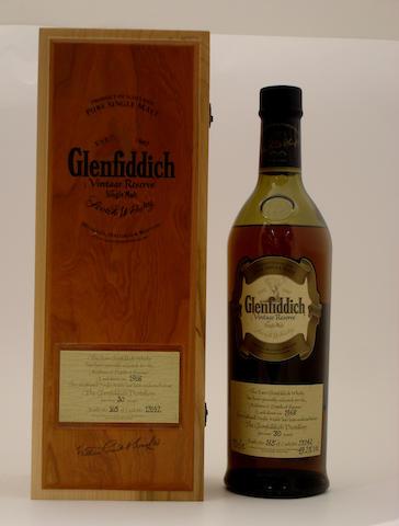 Glenfiddich Vintage Reserve-30 year old-1968