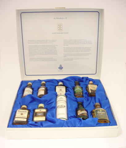 Allied Distillers boxed set of miniatures