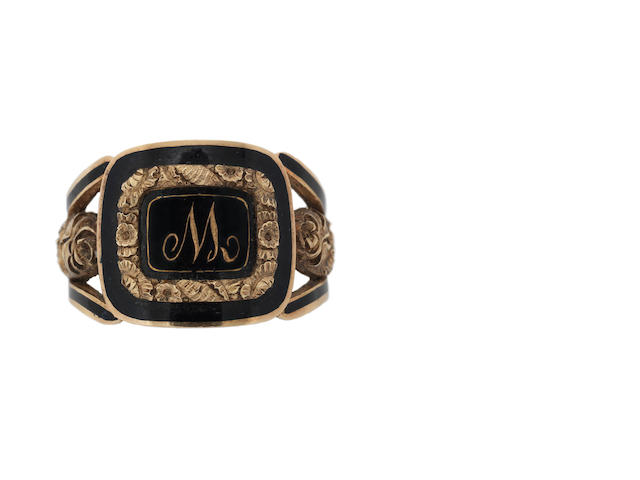 A mourning ring, for James Watt (1756-1819) Engineer.