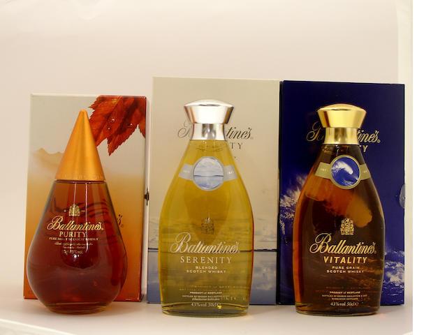 Ballantine's Purity-20 year old<BR /> Ballantine's Serenity<BR /> Ballantine's Vitality
