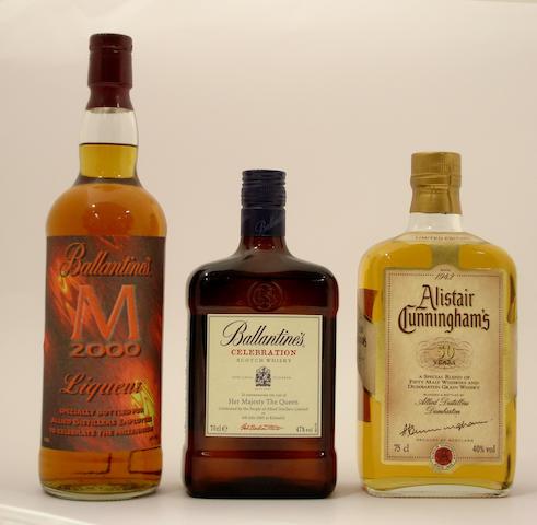 Ballantine's Liqueur-2000<BR /> Ballantine's Celebration<BR /> Alistair Cunningham's 50 years