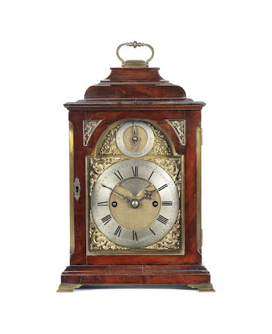 A 19th century mahogany bracket clock of small size James Rigby, London