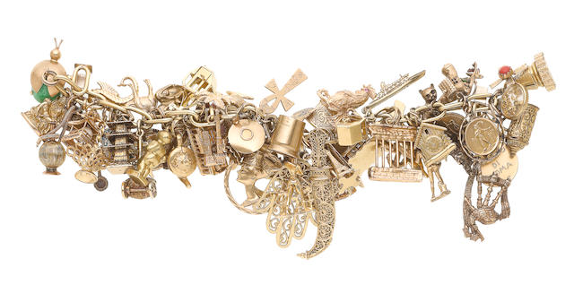 A charm bracelet (illustrated above)