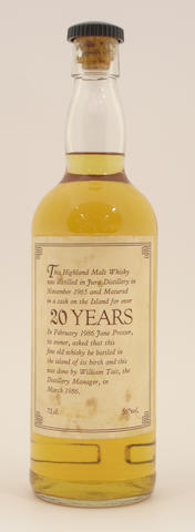 Isle of Jura-20 year old-1965