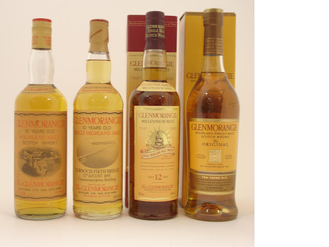 Glenmorangie-10 year old<BR /> Glenmorangie Dornoch Firth Bridge-10 year old<BR /> Glenmorangie Millennium Malt-12 year old<BR /> Glenmorangie Original-10 year old