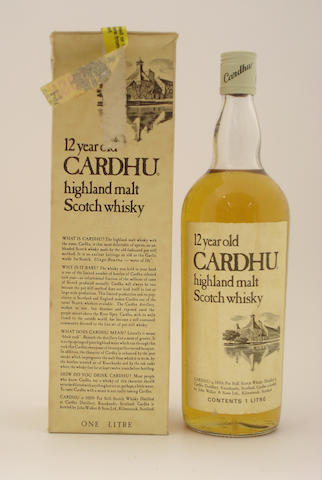 Cardhu-12 year old