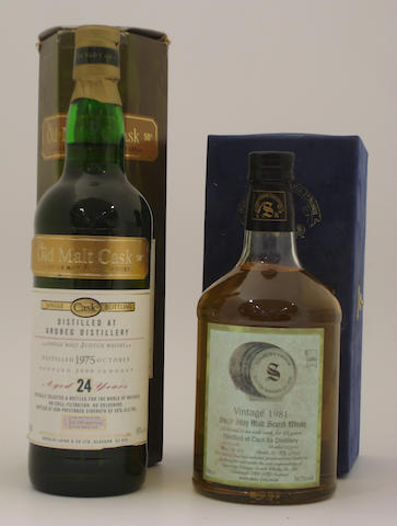 Ardbeg-24 year old-1975  Caol Ila-23 year old-1981