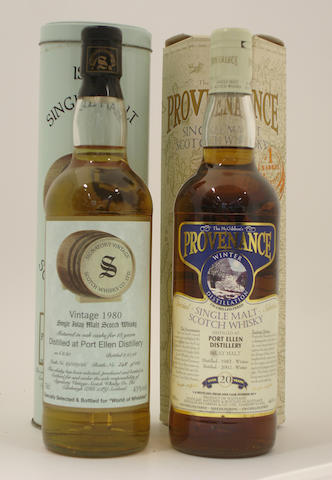 Port Ellen-18 year old-1980<BR /> Port Ellen-20 year old-1982