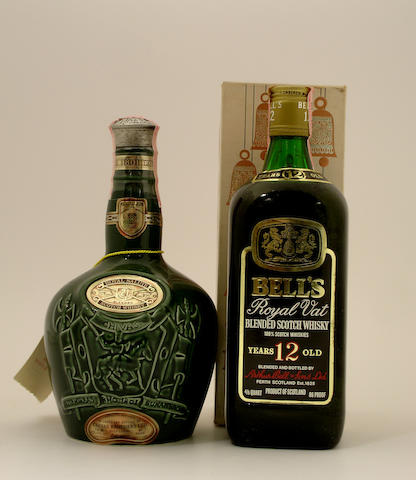Royal Salute-21 year old (7)   Bell's Royal VAT-12 year old