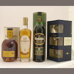 Glenrothes-1972<BR /> Glen Grant-15 year old-1992<BR /> Glenfiddich-12 year old<BR /> Talisker-10 year old