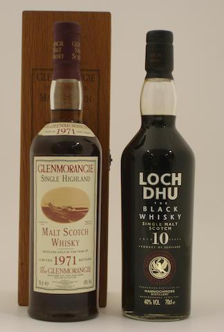 Glenmorangie-1971<BR /> Loch Dhu-10 year old