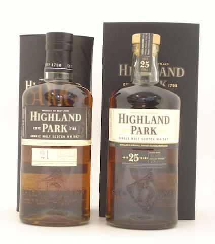 Highland Park-21 year old<BR /> Highland Park-25 year old