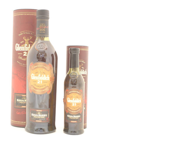 Glenfiddich Havana Reserve-21 year old (4) <BR /> Glenfiddich Havana Reserve-21 year old (2)
