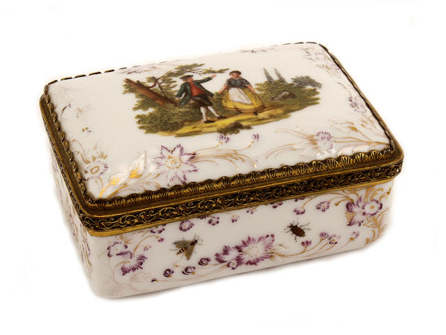 A German snuff-box, second half 19th century