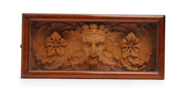 A run of carved limewood frieze, probably 18th century