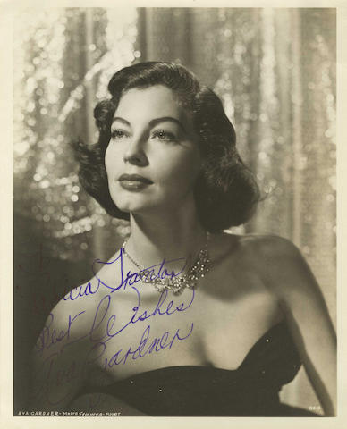 Film and Television: A collection of autographs, 1930s/1940s-present,