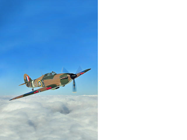 1942 Hawker Hurricane Mark XIIA,Fully-airworthy Single-seat Fighter aircraft